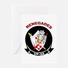 VF 24 Renegades Greeting Cards (Pk of 10)