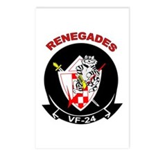 VF 24 Renegades Postcards (Package of 8)