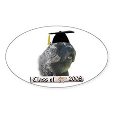 Bouvier Grad 08 Oval Decal