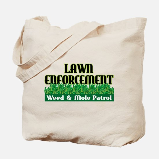 Lawn Enforcement Tote Bag