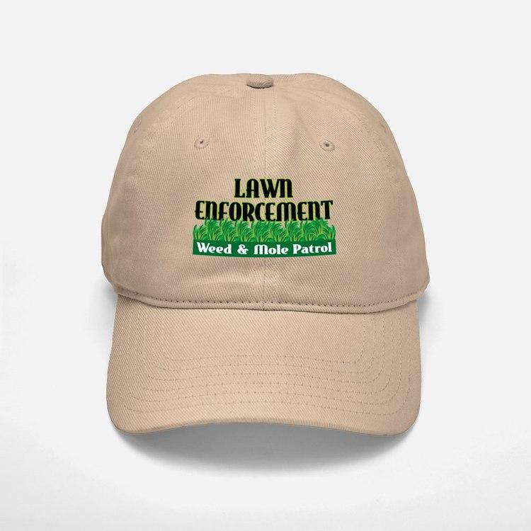 Lawn Enforcement Baseball Baseball Cap