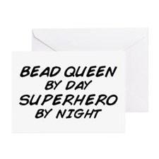 Bead Queen Superhero Greeting Cards (Pk of 10)