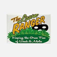 Lawn Ranger Rectangle Magnet