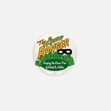 Lawn Ranger Mini Button