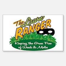 Lawn Ranger Rectangle Decal