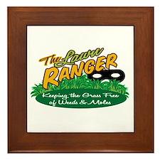 Lawn Ranger Framed Tile