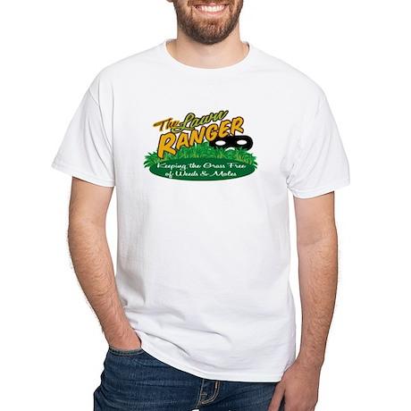 Lawn Ranger White T-Shirt