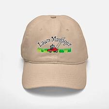Lawn Manager Baseball Baseball Cap