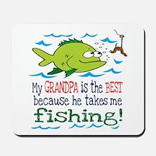 My Dad Takes Me Fishing Mousepad