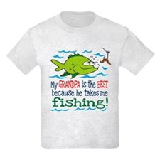 My Dad Takes Me Fishing T-Shirt