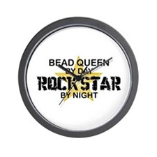 Bead Queen Rock Star Wall Clock