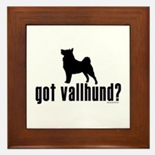 got vallhund? Framed Tile