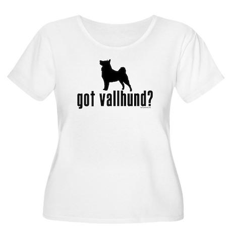 got vallhund? Women's Plus Size Scoop Neck T-Shirt