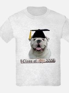 Bulldog Grad 08 T-Shirt