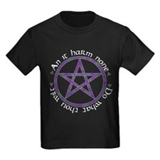 Wiccan Rede Pentacle T