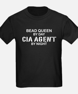Bead Queen CIA Agent by Night T