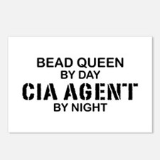 Bead Queen CIA Agent by Night Postcards (Package o