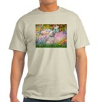 Garden / Lhasa Apso Light T-Shirt