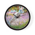 Garden / Lhasa Apso Wall Clock