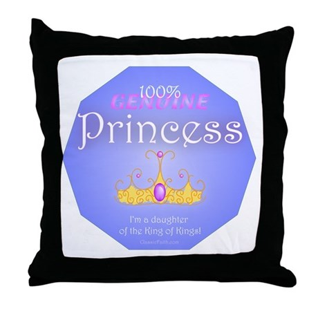 Genuine Princess Throw Pillow