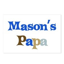 Mason's Papa  Postcards (Package of 8)