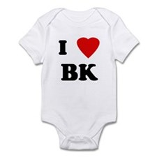 I Love BK Infant Bodysuit