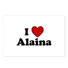 I Heart Alaina Postcards (Package of 8)