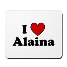 I Heart Alaina Mousepad
