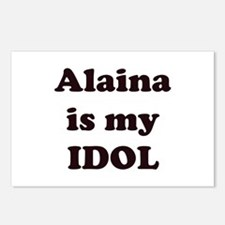 Alaina is my IDOL Postcards (Package of 8)