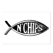 Fish n' Chips Postcards (Package of 8)