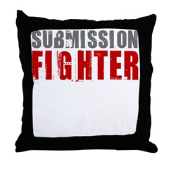 Submission Fighter Throw Pillow