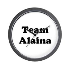 Team Alaina Wall Clock