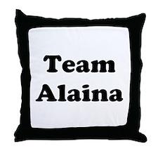 Team Alaina Throw Pillow