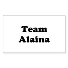 Team Alaina Rectangle Decal