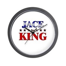 JACE for king Wall Clock