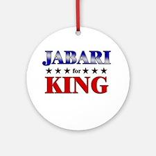 JABARI for king Ornament (Round)