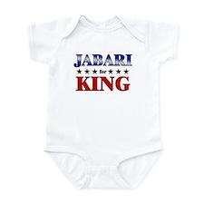 JABARI for king Infant Bodysuit
