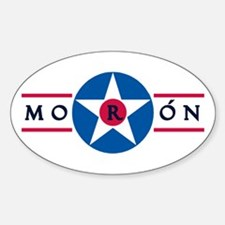 Moron Air Base Oval Decal