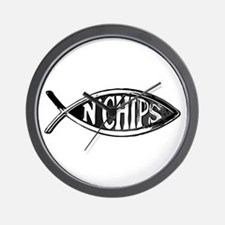 Fish n' Chips Wall Clock