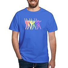 Rainbow of Dancers T-Shirt