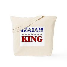 IZAIAH for king Tote Bag