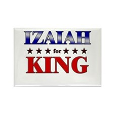 IZAIAH for king Rectangle Magnet