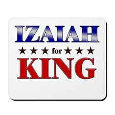 IZAIAH for king Mousepad