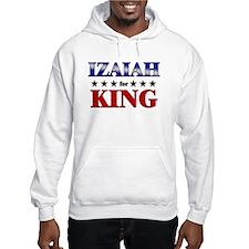 IZAIAH for king Hoodie