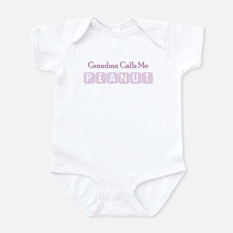 Grandma Calls Me Peanut Infant Bodysuit