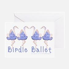 Birdie Ballet Birthday Card