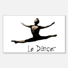 Le Danseur Rectangle Decal