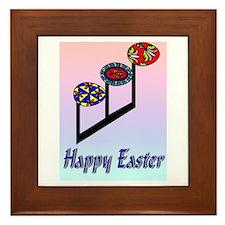 Easter Egg Notes Framed Tile