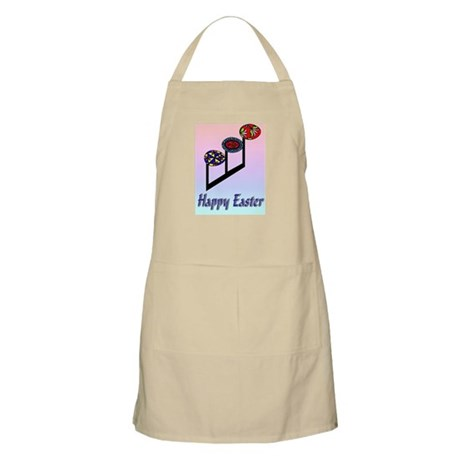 Easter Egg Notes BBQ Apron