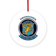 VF 32 / VFA 32 Swordsmen Ornament (Round)